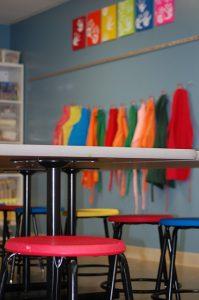 Pre School art area