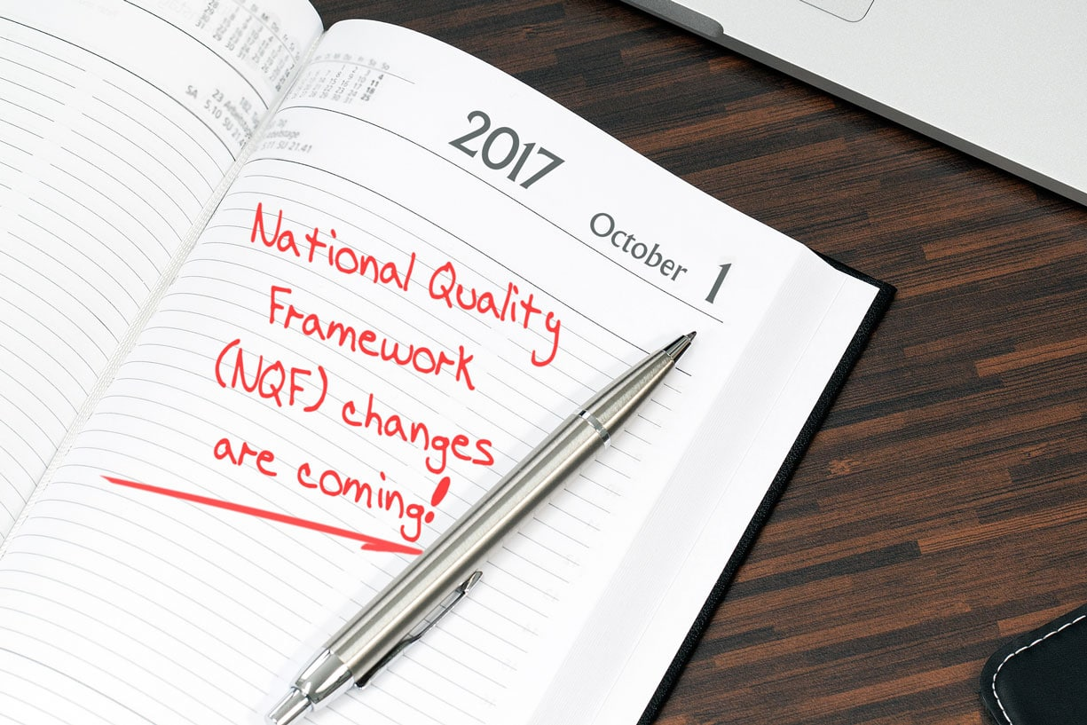 NQF Changes coming